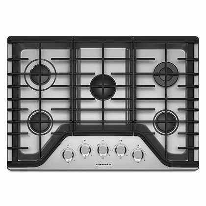 KitchenAid 30 in gas cooktop