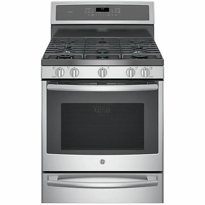 GE Smart Dual Fuel Range with Self-Cleaning Convection Oven