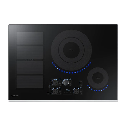 Samsung 30 in. Induction Cooktop with 5 Elements and Flex Zone
