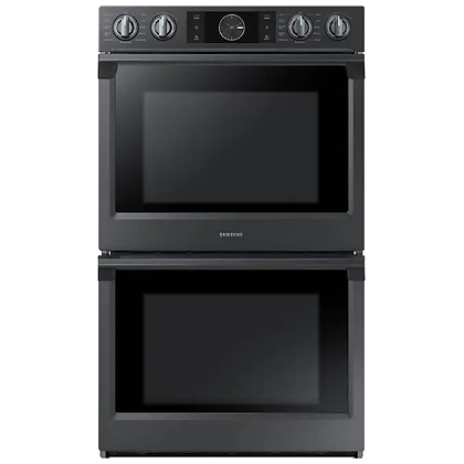 Samsung double wall oven with Steam Cook