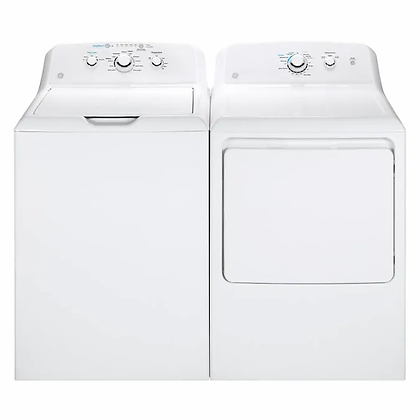 GE 4.2 top load washer & Dryer set