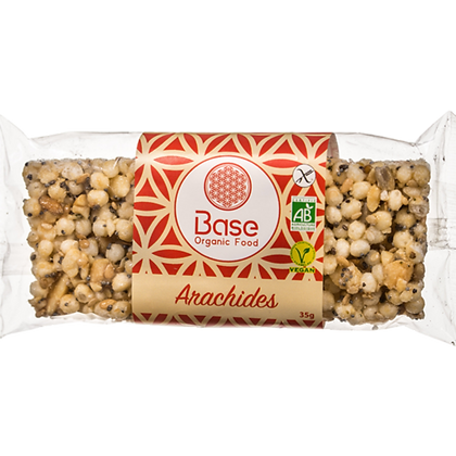Barre sans gluten vegan - Arachides BIO