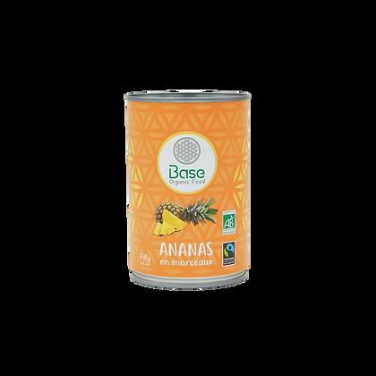 Ananas en morceaux BIO & ÉQUITABLE (430 g)