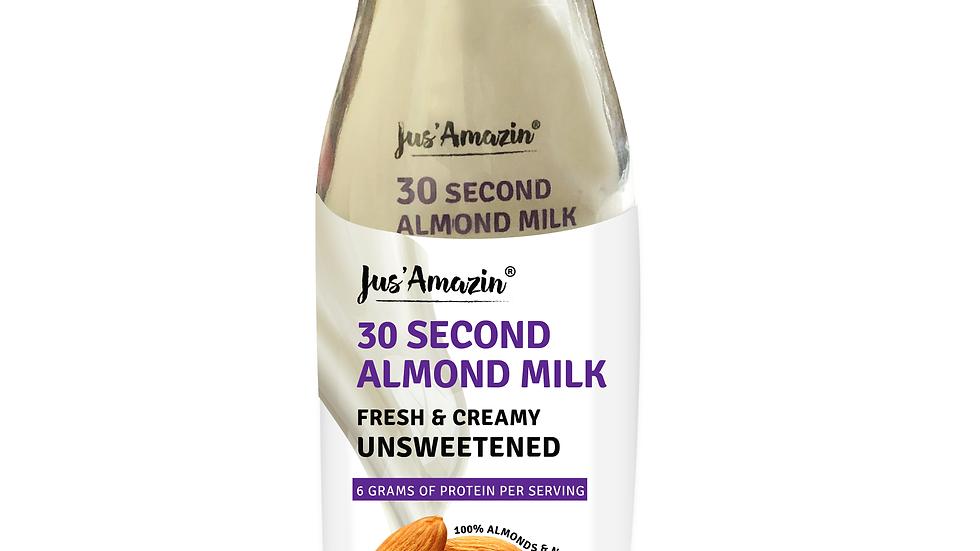 30 Second Almond Milk