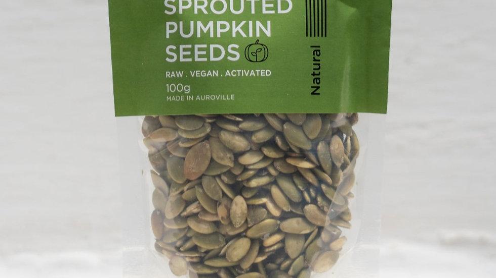 Beeja - Sprouted Pumpkin Seeds - 100g