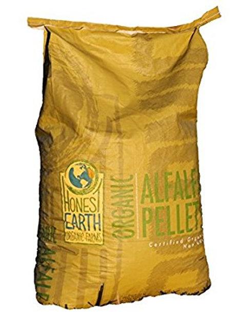 Organic Alfalfa Pellets