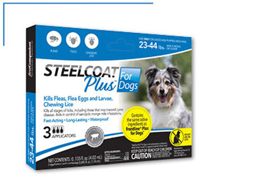 Steelcoat Plus For Dogs 22-34lbs