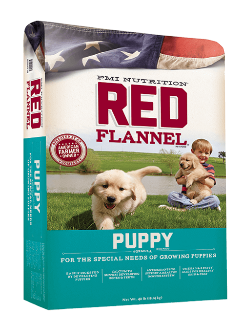 Red Flannel Puppy (Dog Food)