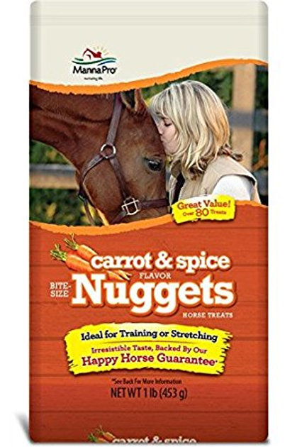 Carrot and Spice Nuggets
