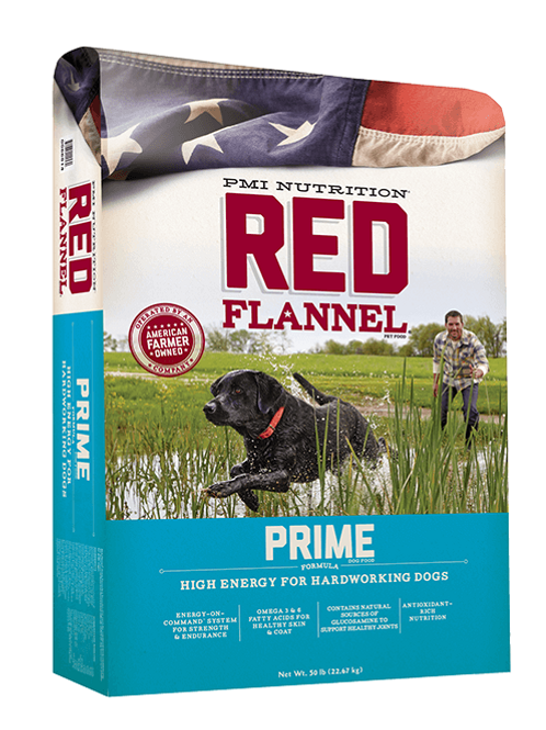 Red Flannel Prime (Dog Food)