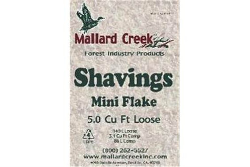 Mallard Creek Shavings Mini Flake