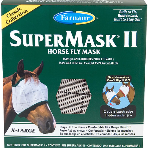 SuperMask II Horse Fly Mask XL