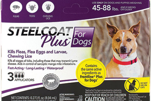 Steelcoat Plus for Dogs 45-88lbs