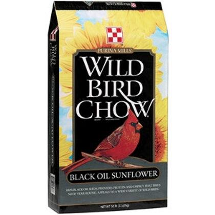 Black Oil Sunflower Wild Bird Chow