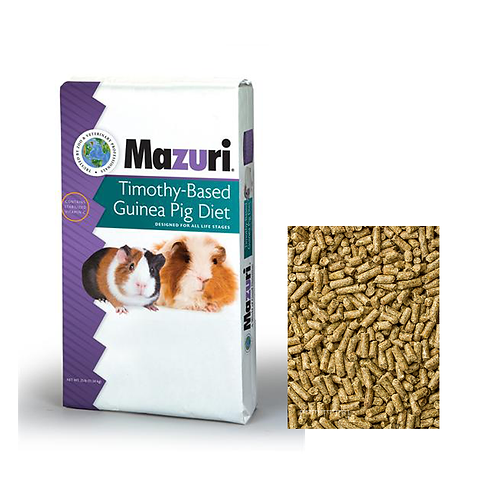 Mazuri Timothy-Based Guinea Pig Diet