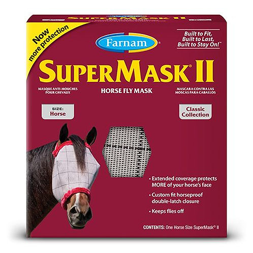 SuperMask II Horse Fly Mask (Horse)