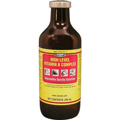 High Level Vitamin B Complex 250ml