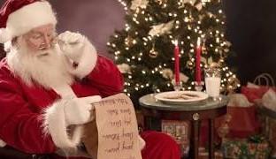 Carta de uma corredora ao Papai Noel