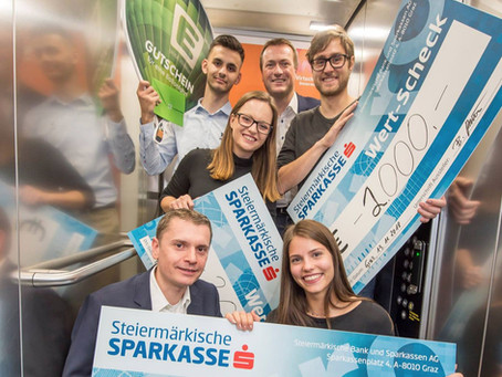 2nd Place at the Elevator Pitch in Graz