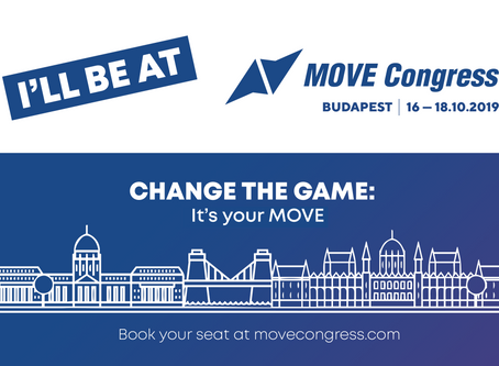 Visit us at the MOVE CONGRESS in Budapest