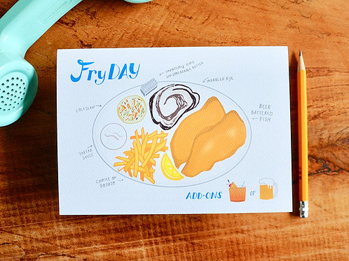 FryDay - Fish Fry Diagram