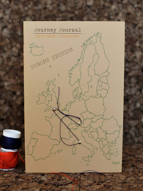 Journey Journal Europe edition