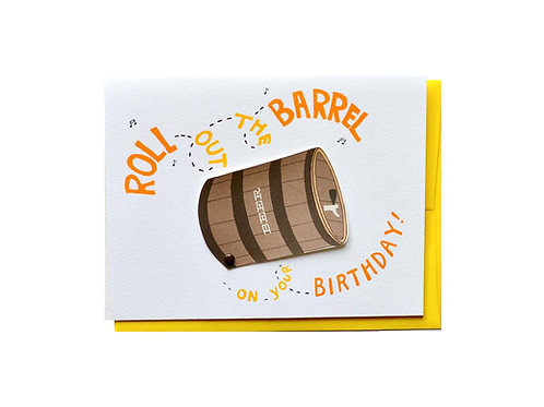 Roll out the Barrel Birthday