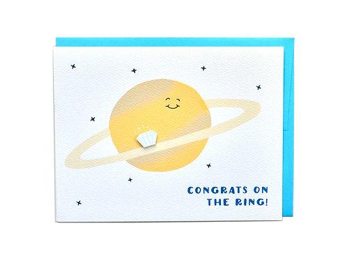 Saturn Ring Engagement