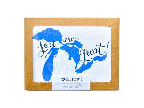 Great Lakes Notecard Set