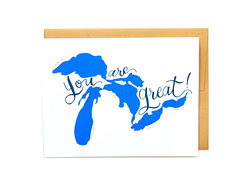You're Great!(Lakes)
