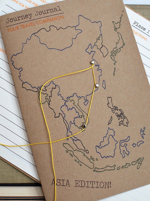 Journey Journal Asia edition