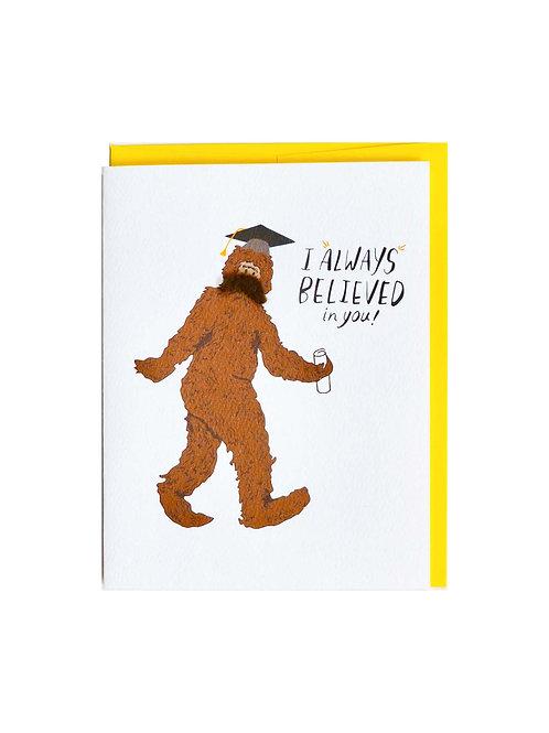Bigfoot Graduate