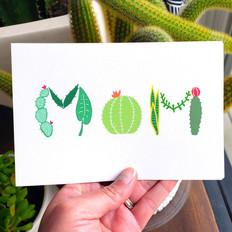 Cactus Mom illustration
