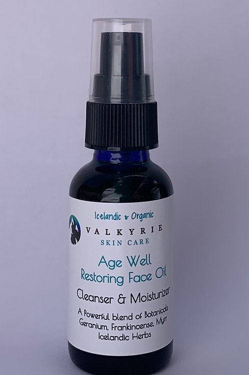 Age Well Face Oil For Aging Skin