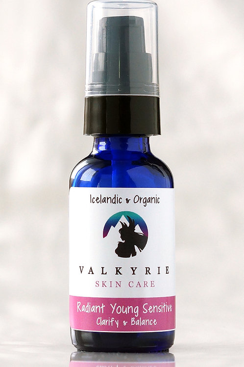 Radiant Face Oil For Young/Sensitive skin