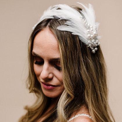 Odette Feather Headband