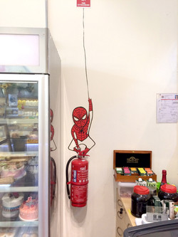 MySweetHutCafe_Spiderman