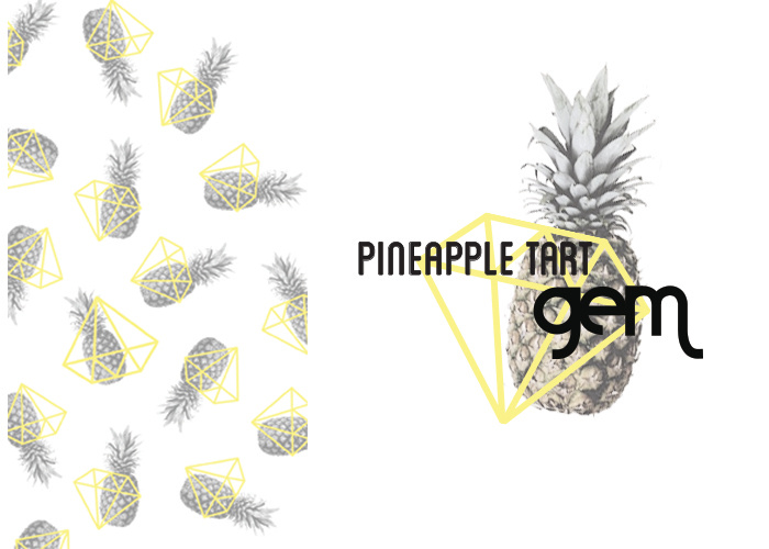 Gem Pineapple Design 1