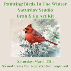 Saturday Studio Birds In Winter March.pn