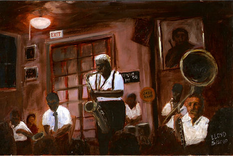 Jazz Band (oil, 8 x 12).jpg