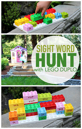 sight-word-hunt-outside-with-lego-duplo-
