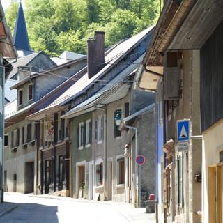 The village of Le Châtelard