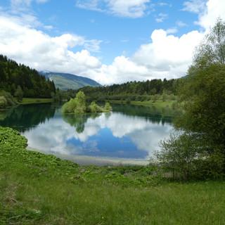 Lake near Le Villaret Rouge