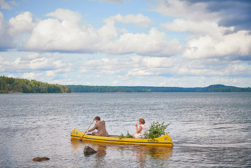 Wedding paddling