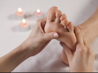 Extremely busy start to the week with Reflexology