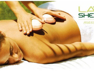 Such a busy month for Lava shell massage