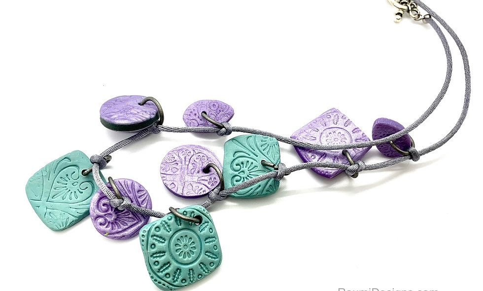 Pastel gypsy necklace