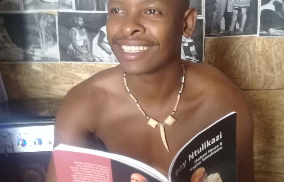 Thobani Nzuza is so exicted he has to sh
