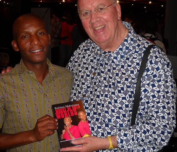 Bulelani Mabutshana receives his author-