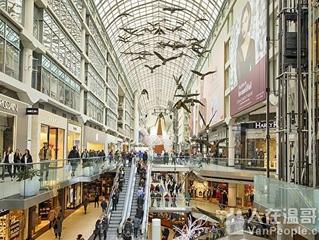 加拿大最赚钱商场:温哥华这些商场上榜